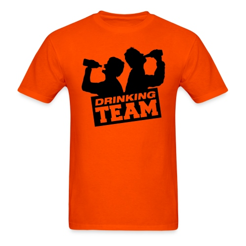 DJ Poolie Drinking Team - Men's T-Shirt
