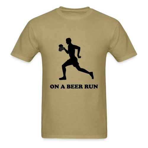 DJ Poolie On A Beer Run - Men's T-Shirt