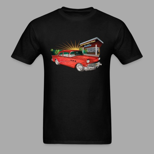 57 chevy Hot Rod - Men's T-Shirt