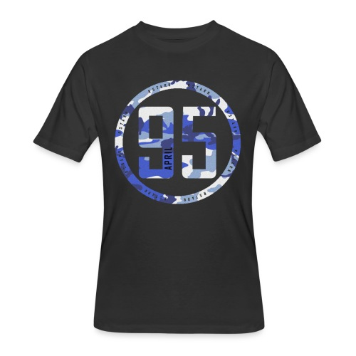95 Black Shirt - Men's 50/50 T-Shirt