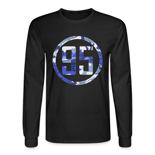 95 Shirt Black - Men's Long Sleeve T-Shirt