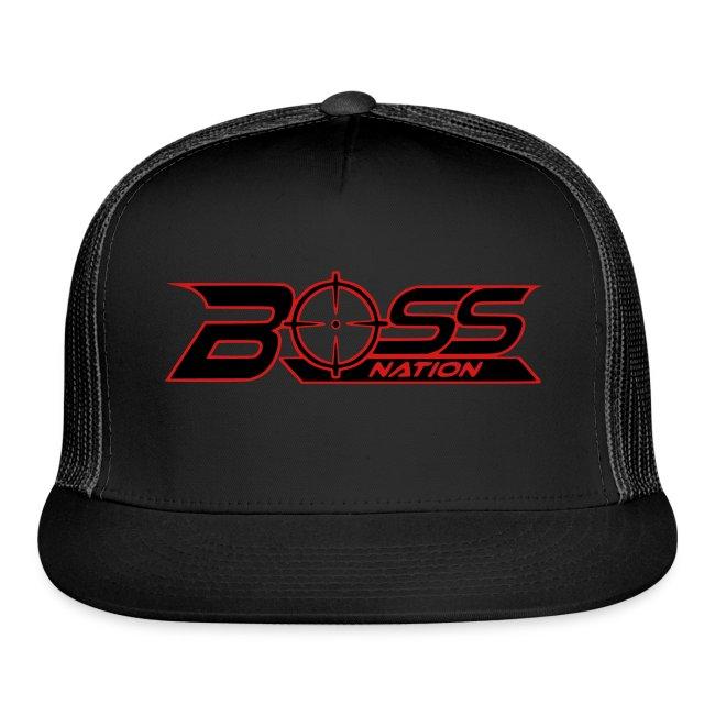 Boss Nation Logo Trucker Hat b7b36979975