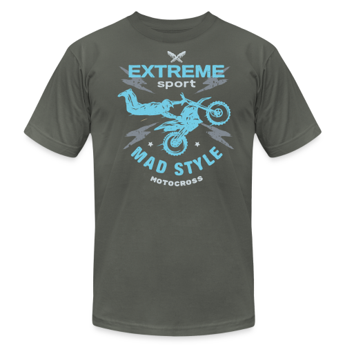 Mad Style Moto - Men's Fine Jersey T-Shirt