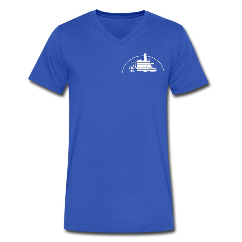 Bottle Castle (small) Men's V-Neck Tee! T-Shirt | Practical Folks ...