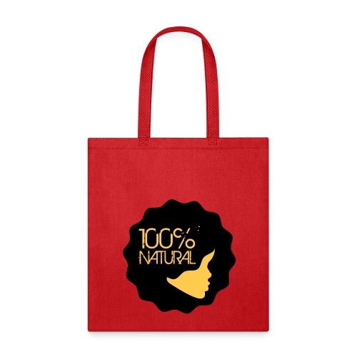 100% Natural Afro Sillhouette - Tote Bag