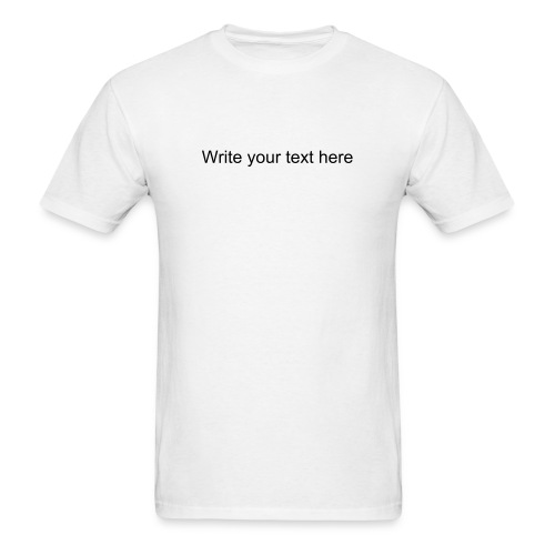 Write your text here - Men's T-Shirt