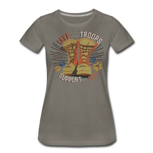 Boots and Pets Women's Tee - Women's Premium T-Shirt