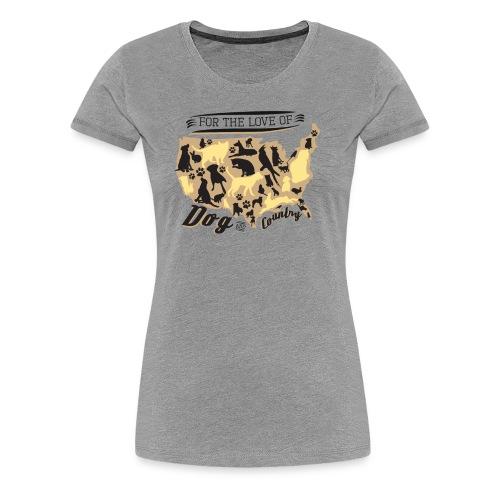 Dog & Country Women's Tee - Women's Premium T-Shirt