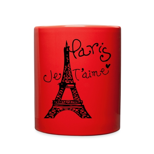 Paris Je T'aime Eiffel tower - Full Color Mug