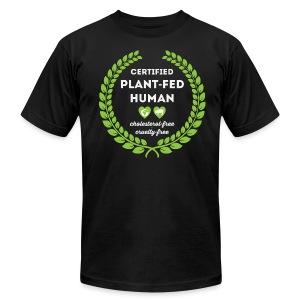 Plant-Fed Human - Unisex - Men's Fine Jersey T-Shirt