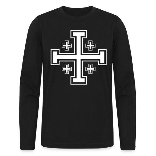 Knight - Men's Long Sleeve T-Shirt by Next Level