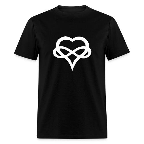 Big Infinity Heart mens - Men's T-Shirt