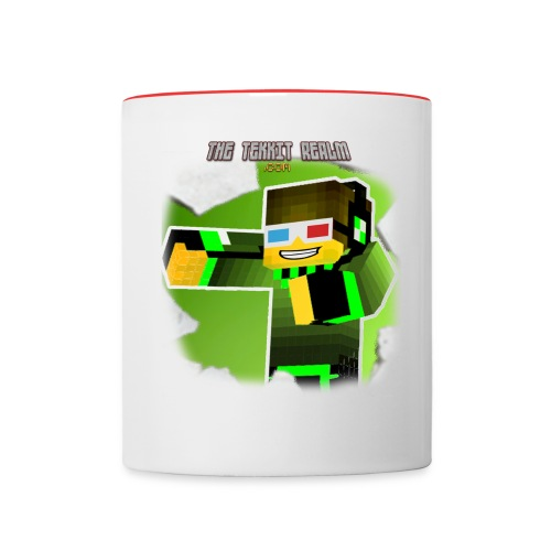 TheTekkitRealm.com Themed Coffee Mug - Contrast Coffee Mug
