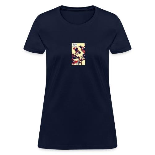 Ocean says... tee - Women's T-Shirt