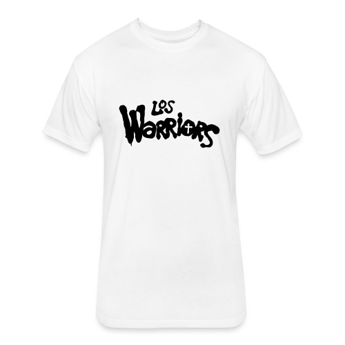 Los Warriors - Holy with SO logo - Fitted Cotton/Poly T-Shirt by Next Level