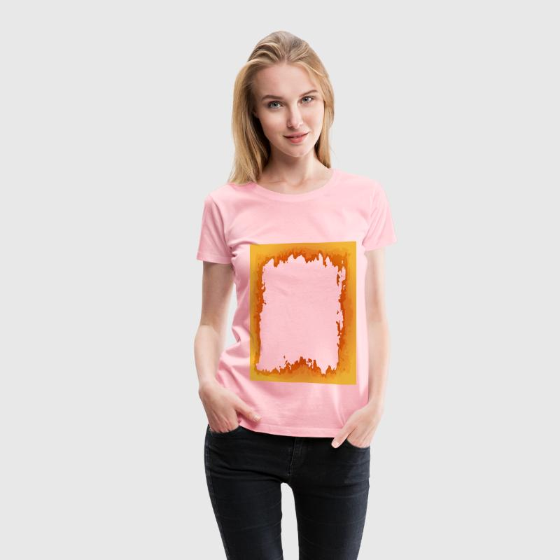 Fire Border - Women's Premium T-Shirt