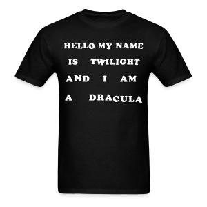 Hello My Name Is Twilight - Men's T-Shirt