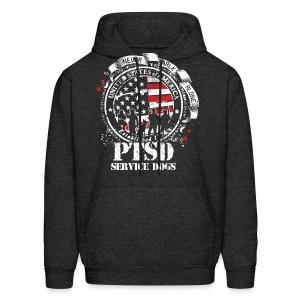 Mens PTSD Service Dogs Hoodie - Men's Hoodie