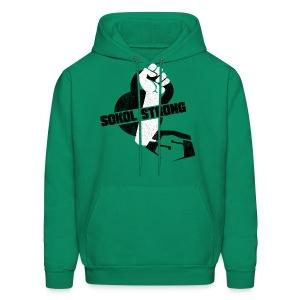 Compete with myself hoodie - Men's Hoodie