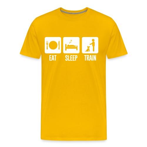 Eat Sleep Train Mens Tee - Men's Premium T-Shirt
