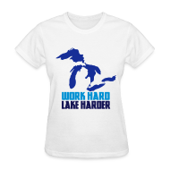 T-Shirts ~ Women's T-Shirt ~ Lake Harder