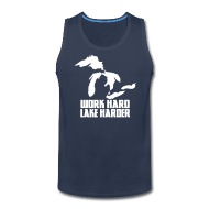 Sportswear ~ Men's Premium Tank ~ Lake Harder
