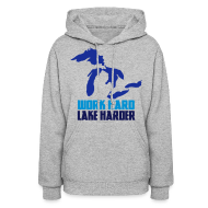 Hoodies ~ Women's Hoodie ~ Lake Harder