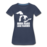 T-Shirts ~ Women's Premium T-Shirt ~ Lake Harder