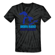T-Shirts ~ Unisex Tie Dye T-Shirt ~ Lake Harder