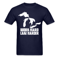 T-Shirts ~ Men's T-Shirt ~ Lake Harder