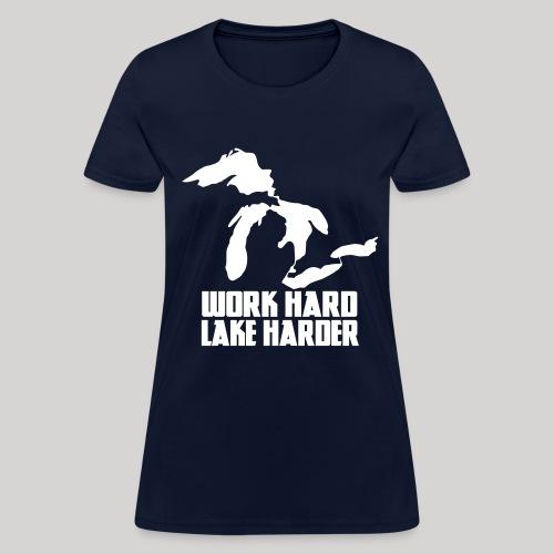 Lake Harder - Women's T-Shirt
