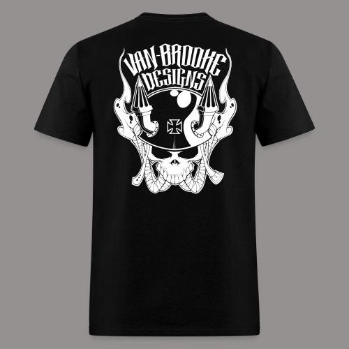 Van-Brooke Motoskull Men's Tee (Various Colors) - Men's T-Shirt