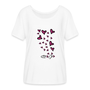 2017 growing love Women's Flowy T-Shirt - Women's Flowy T-Shirt