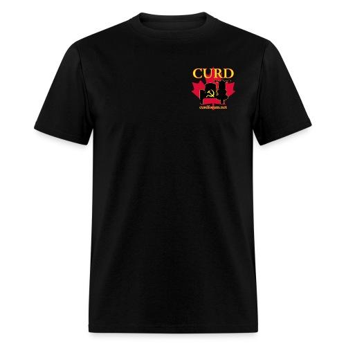 Men's CURD (2 emblem) - Men's T-Shirt