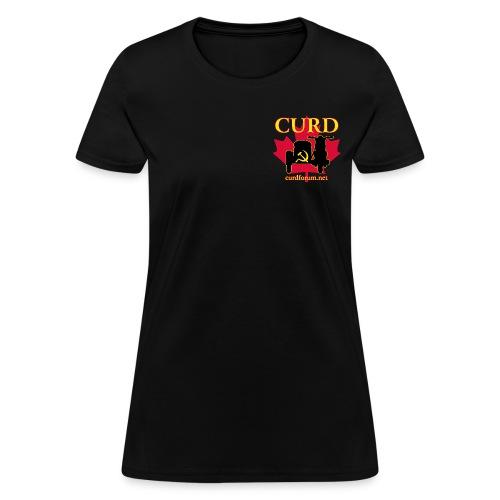Women's CURD (2 emblem) - Women's T-Shirt