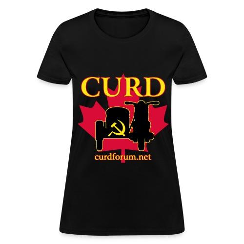 Women's CURD (front) - Women's T-Shirt