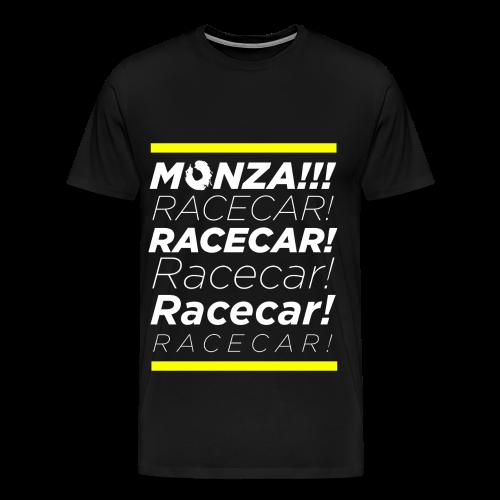 MONZA!!! RACECAR!!!! - Men's Premium T-Shirt