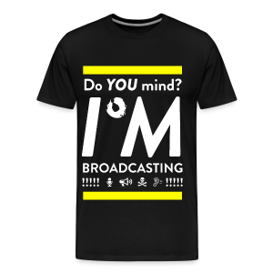 Do You Mind?? (Regular Edition) - Men's Premium T-Shirt