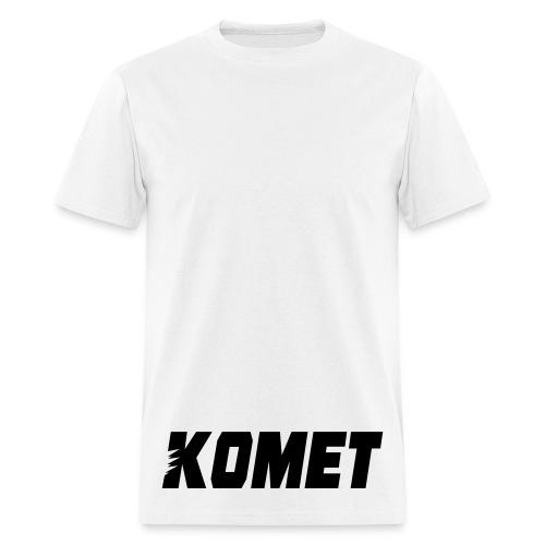Komet 1.0 (Black Ink) - Men's T-Shirt