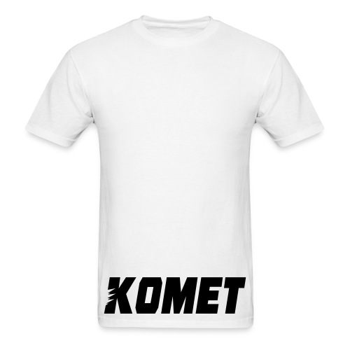 Komet 1.0 (Black Ink) - Men's T-Shirt