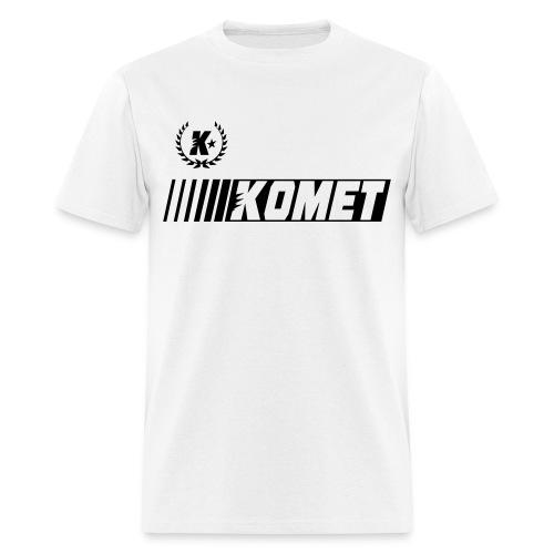 Komet Racer (Blank Ink) - Men's T-Shirt