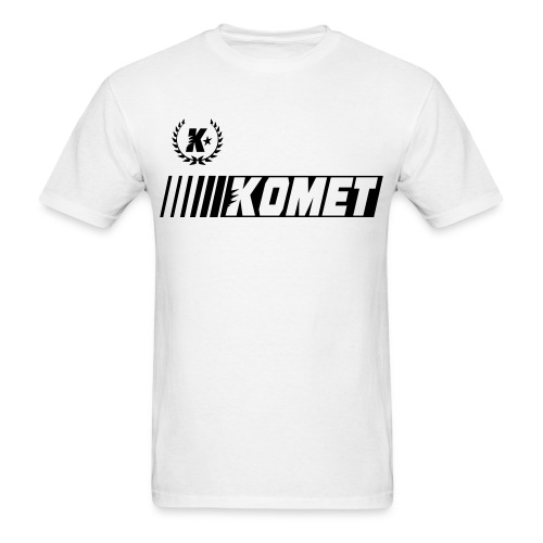Komet Racer (Blank Ink) - Men's T-Shirt