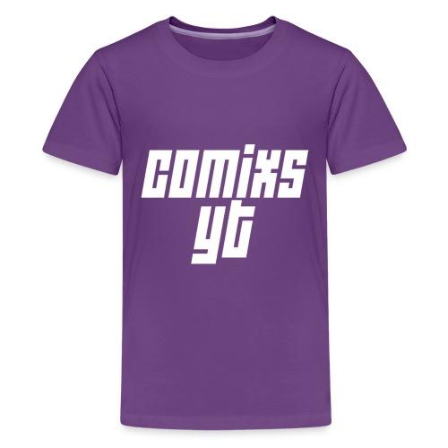 Kid's White Text - Kids' Premium T-Shirt