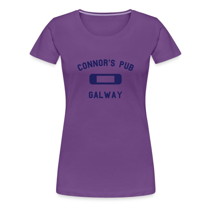 Connor's Pub - Galway - Women's Premium T-Shirt