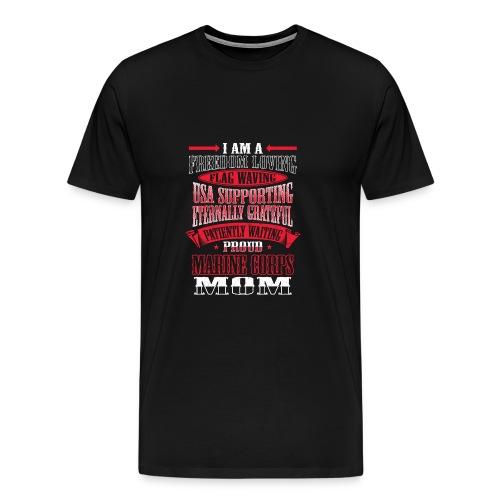 Proud Marine Mom - Men's Premium T-Shirt