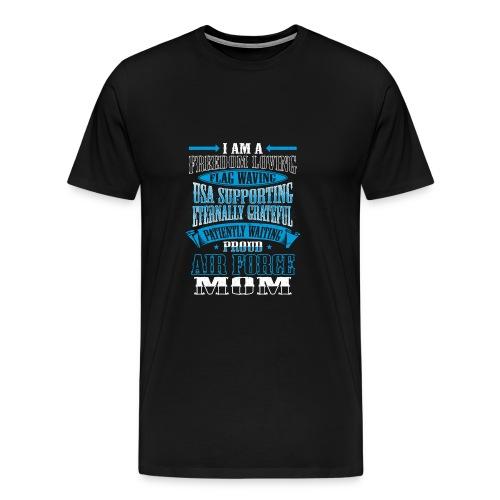 Proud Air Force Mom  - Men's Premium T-Shirt
