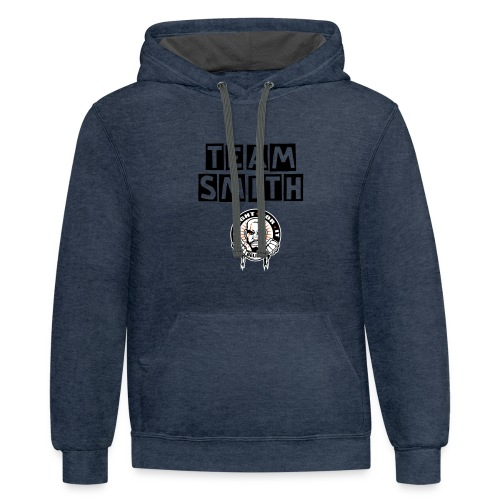 Join The Fight Mens Hoodie - TEAM SMITH - Contrast Hoodie