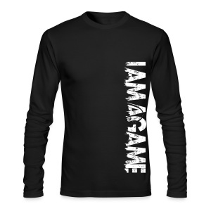 IAmAGame Long Sleeve Vertica - Men's Long Sleeve T-Shirt by Next Level