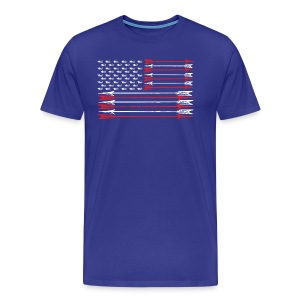 TradLife American Flag - Men's Premium T-Shirt