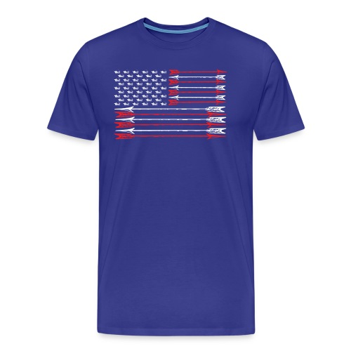TradLife American Flag - Men's Premium T-Shirt